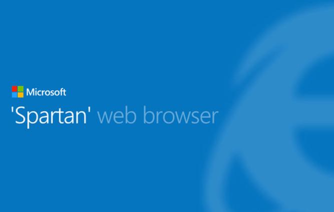 Cómo será Spartan, el nuevo navegador de Microsoft.